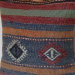 Handwoven-multi-colored-Kilim-Pillow 2