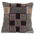 Turkish-vintage-handmade-wool-kilim-pillowcase 1