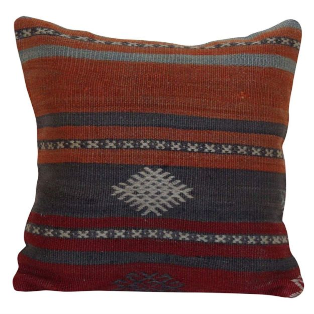 Vintage-one-of-a-kind-kilim-pillow 1