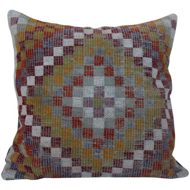 Multicolor Oversized Kilim Pillow