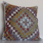 large-turkish-kilim-rug-pillow-24 inches-oversized 5