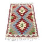 VE2260-Handmade-Flat-Woven-Wool-Kilim-Rug-3'1''x4'1''