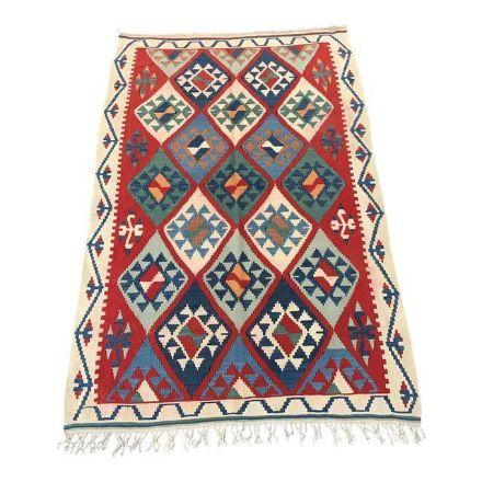 Vintage-Handmade-Turkish-Kilim-Rug-3'5''x5'1''