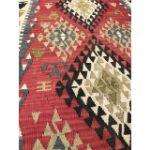 VE2253-Handmade-Flat-Woven-Kilim-Rug - 3'7'' x 5'8''