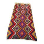 Turkish Flat Woven Kilim Rug