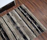 Neutral-Striped-Brown-Rug