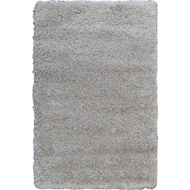 Picture of Shag Rug Solid Beige