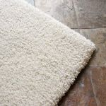 Picture of Shag Rug Solid Ivory