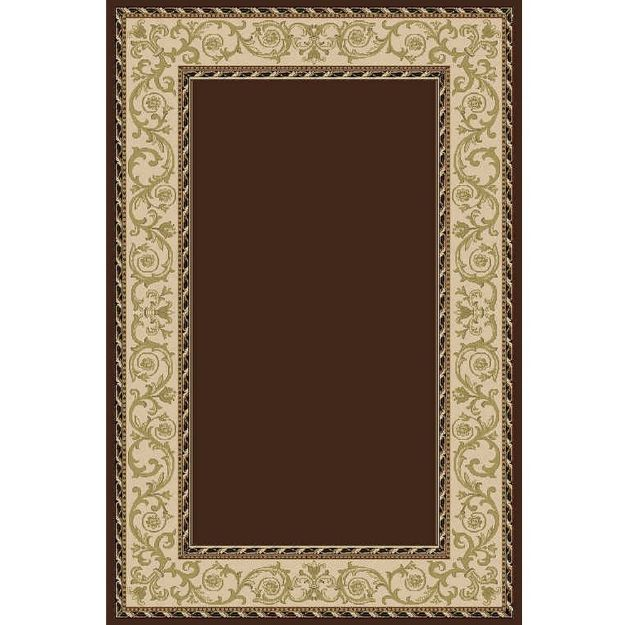 Solid-Brown-Rug-with-Border