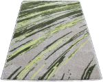 Striated-Stripes-Abstract-Rug-Green