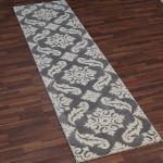 Picture of Transitional Floral Gray Rug